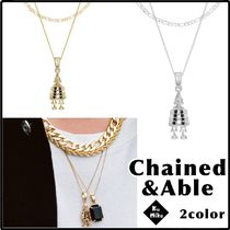 【Chained&Able/送料無料】CLOWN FIGARO ネックレス 2color