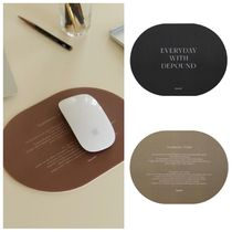 depound(デパウンド) デザイン文具・ステーショナリその他 韓国雑貨【depound】21S/S mouse pad  2color #追跡送料込
