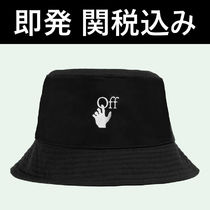 ★OFF-WHITE HAND OFF LOGO BUCKET HAT バケット ハット