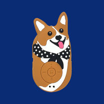 韓国人気【Wiggle Wiggle】Mini Bluetooth Speaker Welsh Corgi