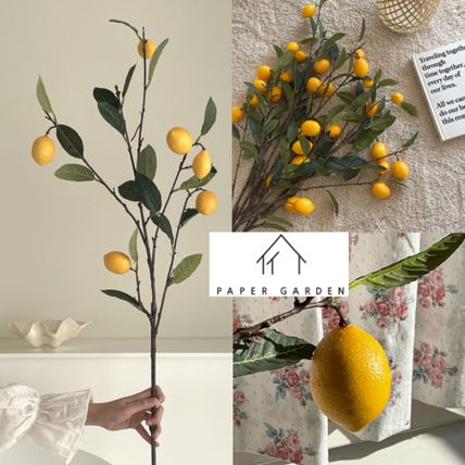 [PAPER GARDEN]Lemon tree □ Artificial Flower □