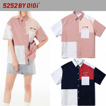 ★2021SS新作★5252 by oioi★COLOR BLOCK SHIRTS_2色