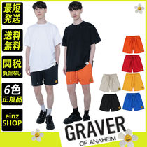 【GRAVER】Dot Embroidery Shorts