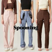【SPOONING】SUNBATHE POCKET PANTS