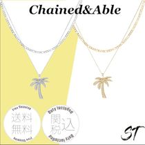 Chained&Able パームツリー ペンダント FIGARO LAYER 日本未入荷