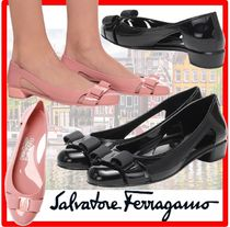 ☆人気☆【Salvatore Ferragamo】☆VARA JELLY FLAT SHOE.S☆