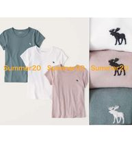 Abercrombie & Fitch(アバクロ) Tシャツ・カットソー 【Abercrombie & Fitch】クルーネック 半袖Tシャツ3枚セット