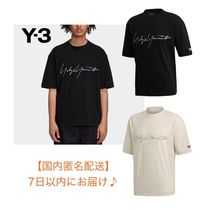 [Y-3] M DISTRESSED SIGNATURE SS TEE ワイスリー