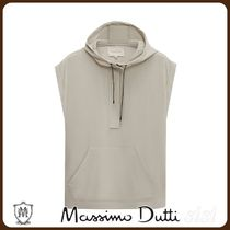 MassimoDutti♪HOODED TOP WITH POUCH POCKET LIMITED EDITION