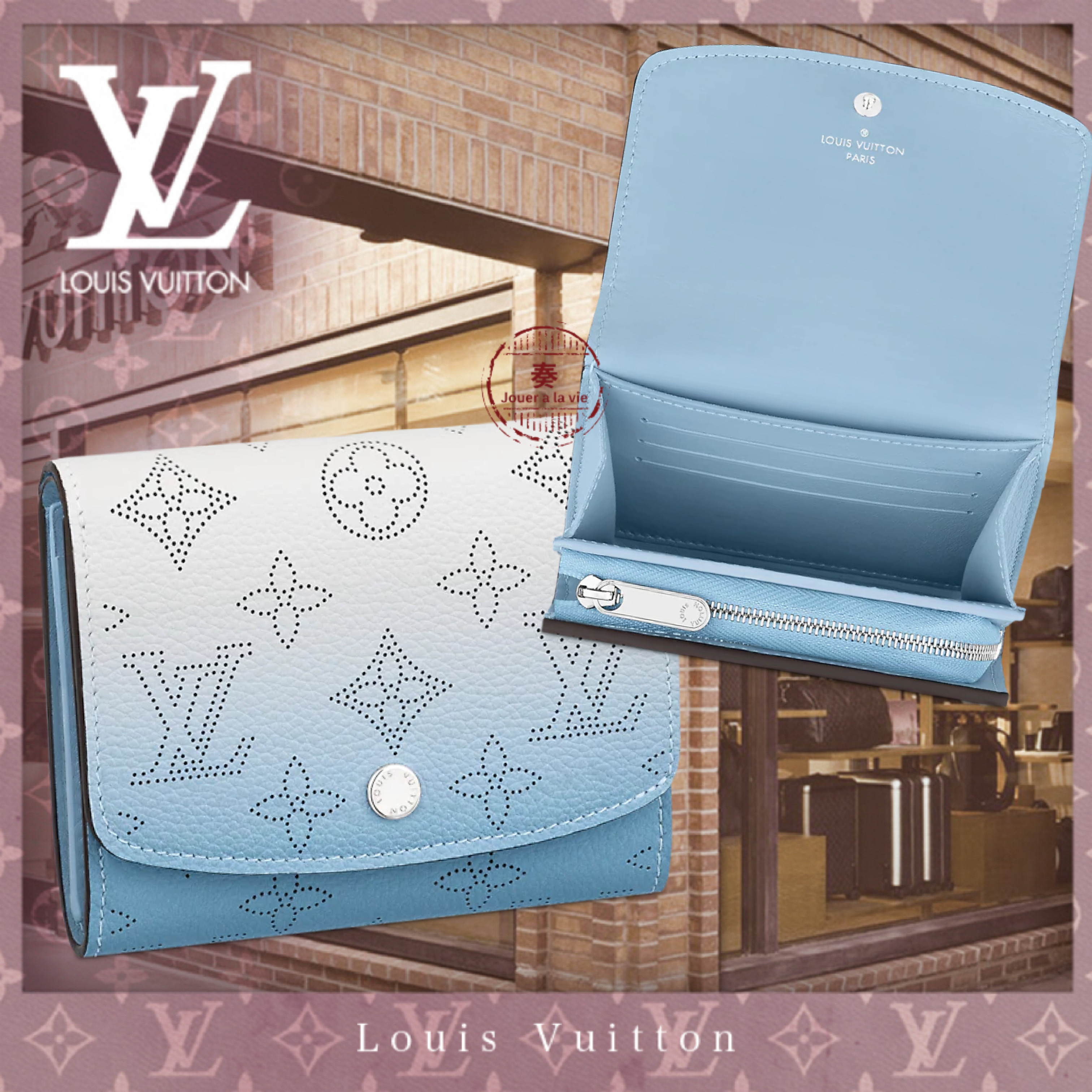 21SS直営買付 Louis Vuitton ポルトフォイユ・イリス コンパクト (Louis Vuitton/折りたたみ財布) M80492