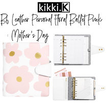 【kikki.K】B6 Leather Personal Planner FB Pink: Mother's Day
