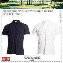 Calvin Klein Golf / 21SS / Monogram Non-Iron Golf Polo Shirt