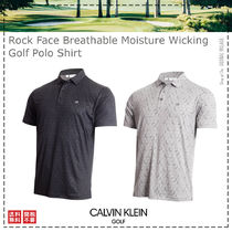 Calvin Klein Golf / 21SS / Rock Face Breathable Polo Shirt