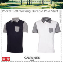 Calvin Klein Golf / 21SS / Pocket Soft  Polo Shirt