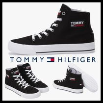 [TOMMY HILFIGER] Virginia Mid Cut Canvas Sneakers