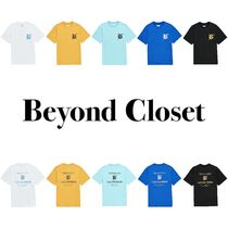 ★BEYOND CLOSET_BC NEW LETTERING 1/2 T-SHIRTS★