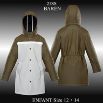 21SS★新作★MONCLER★BAREN キッズ ナイロン ロングパーカー