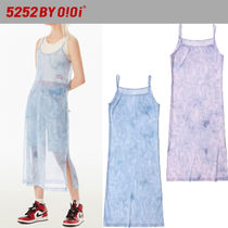 ★2021SS新作★5252 by oioi★SHEER LAYER LONG DRESS_2色