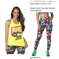 新作♪2点セットZumba Open 24 Hours Tank+Fresh Vibes Leggings