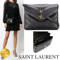 """SAINT LAURENT LOULOU TOY BAG IN MATELASSE """"Y"""" LEATHER"""