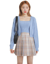 [our] Hipo Knit Sleeveless & Cardigan Set (3color)