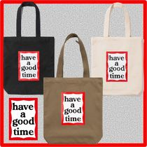 have a good time(ハブアグットタイム) トートバッグ ☆人気☆have a good time☆ FRAME TOTE BAG☆3色