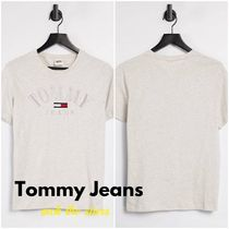 """""""Tommy Jeans"""" フロント刺しゅう ロゴ Tシャツ ★送料無料★"""