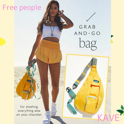 Free People☆KAVE ロープデザインがオシャレなBagでGrab and go