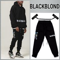 韓国発!【BLACKBLOND】BBD Innocent Cargo Jogger Pants