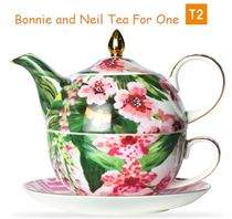 【T2 ティーツー】ギフトにも★Bonnie and Neil Tea For One
