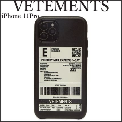 VETEMENTS ☆ Delivery Sticker iPhone11pro ケース 送関込
