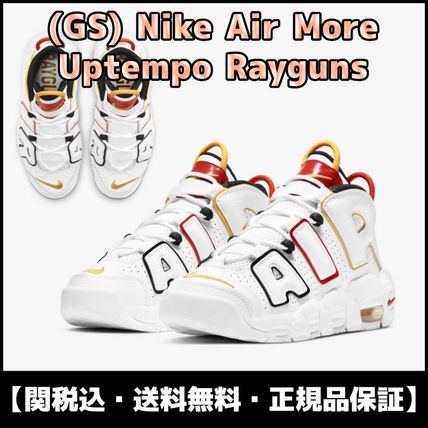 Nike(ナイキ) キッズスニーカー ★関税/送料込★ NIKE GS Air More Uptempo Rayguns DD9282-100