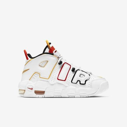 Nike キッズスニーカー ★関税/送料込★ NIKE GS Air More Uptempo Rayguns DD9282-100(7)