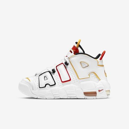 Nike キッズスニーカー ★関税/送料込★ NIKE GS Air More Uptempo Rayguns DD9282-100(9)
