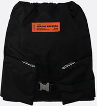 HERON PRESTON■ss21/NYLON GYM BAG