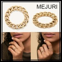 【MEJURI】Bold Chain Ring ボールド チェーン リング 14k