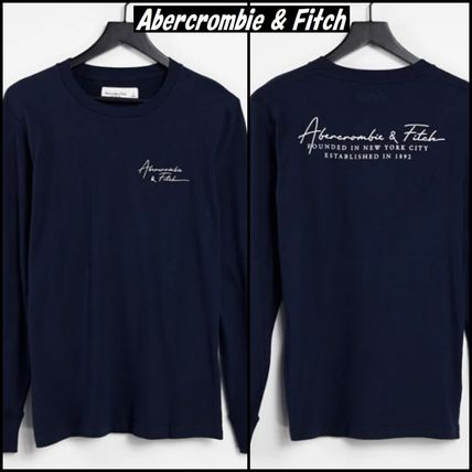 【Abercrombie & Fitch】チェスト バック ロゴ 長袖 Tシャツ ♪