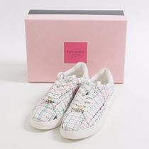 kate spade new york::tweed sneakers:US6.5B[RESALE]
