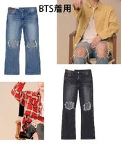 [ANDERSSON BELL]BTSジミン着用DESTROYED BOOTS CUT JEANS全2色