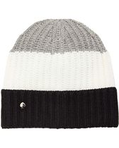【kate spade new york】Color-Block Beanie/リブ編み/ビーニー
