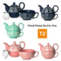 【T2 ティーツー】ギフトにも★Floral Fiesta Tea For One
