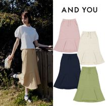 AND YOU(アンドユー) スカート 【AND YOU】21ss★ MARRONNIER Training skirt 5色