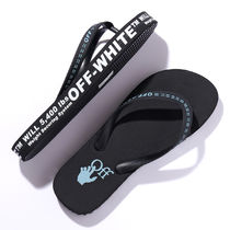OFF-WHITE トングサンダル RUBBER FLIP FLOP