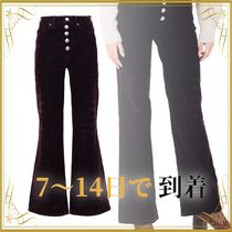 SEAL◆TOMMY HILFIGER ICON BOOTCUT HW VELV Denim trousers