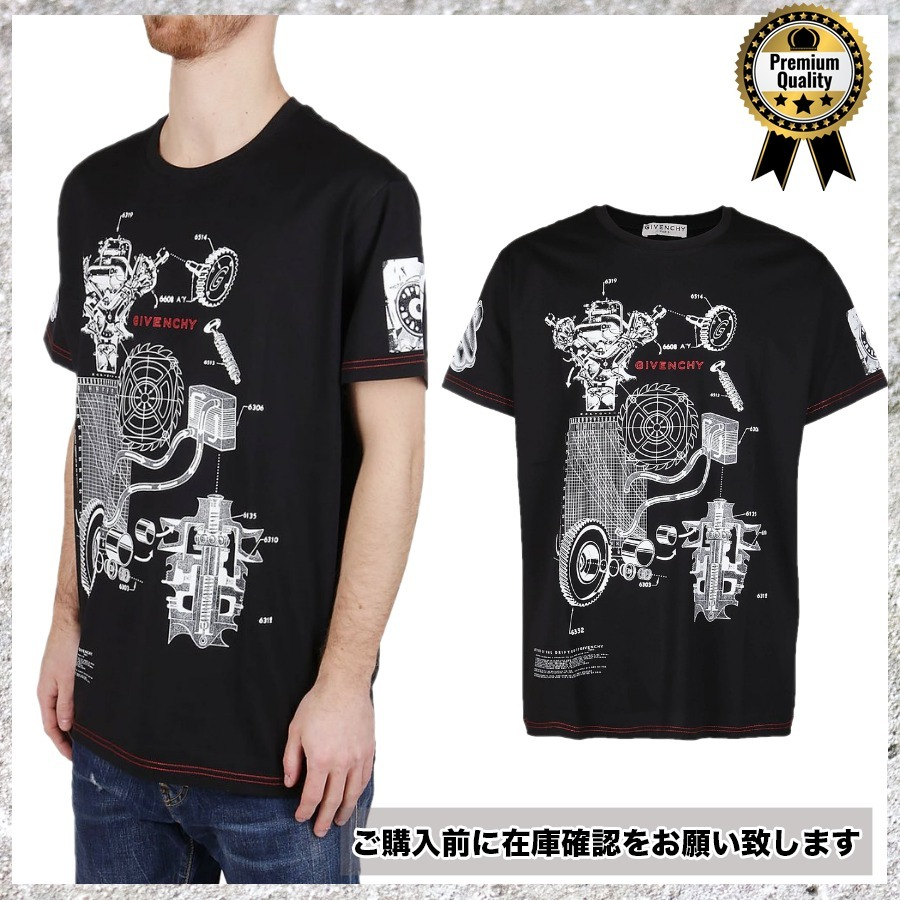 GIVENCHY◆バイカラー ロゴ 半袖 TシャツMv704 (GIVENCHY/Tシャツ・カットソー) 67280323