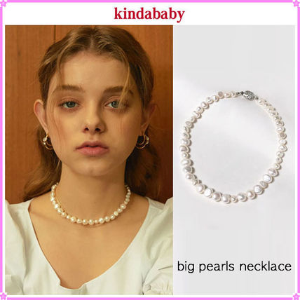 【kindababy】big pearls necklace〜ビッグパールネックレス
