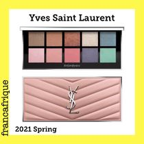 2021春☆Yves Saint Laurent☆SPRING LOOK☆アイ&チークパレット