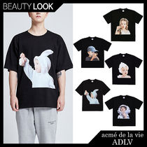 【acme' de la vie】ADLV BABY FACE SHORT SLEEVE T-SHIRT BLACK