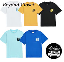 Beyond Closet NEW LETTERING 1/2 SHIRTS LM54 追跡付