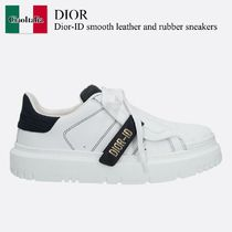 Dior-ID smooth leather and rubber sneakers